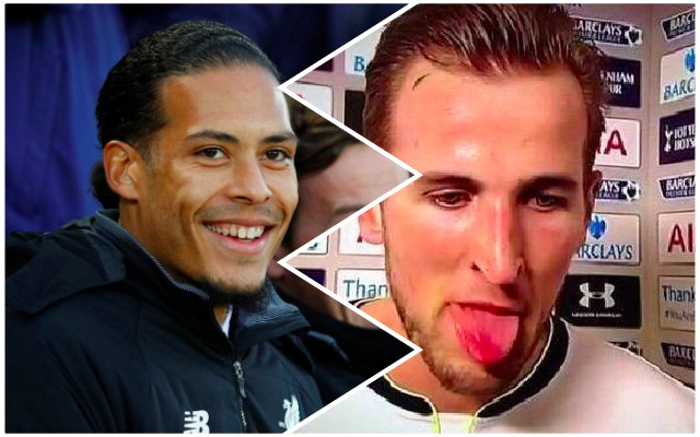 Virgil van Dijk deleted a tweet from yesterday laughing at Harry Kane