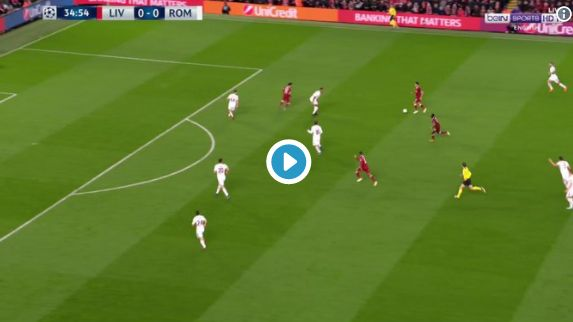 Video: Mohamed Salah scores his best Liverpool goal yet to make it 1-0 vs Roma