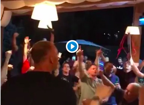 (Video) Jamie Carragher absolutely having it in Kiev