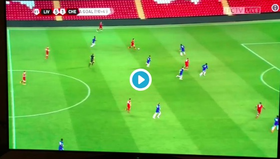 (Video) Yan Dhanda scores a real worldy in 5-1 Chelsea thumping
