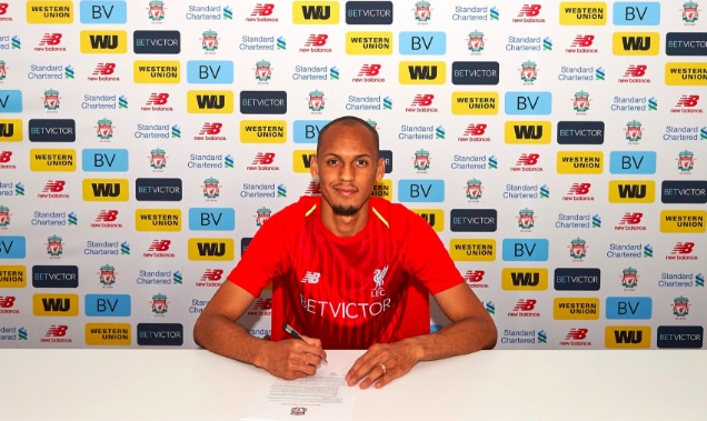 Fabinho hints that world-class player will join him at LFC