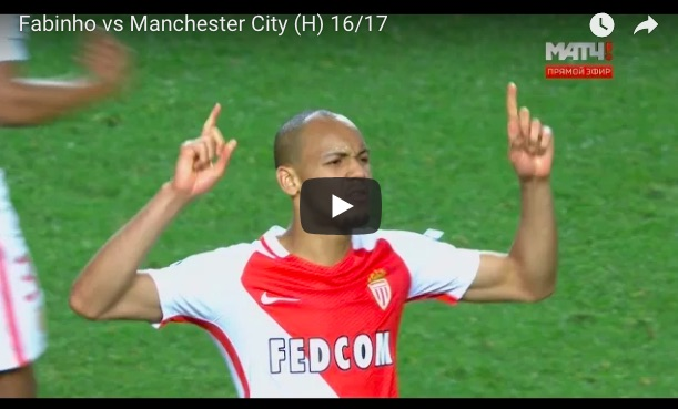 (Video) Watch both of Fabinho's performances v City in Champions League QF in 2017