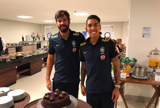 Fans think Alisson is Anfield bound after Firmino's social media activity