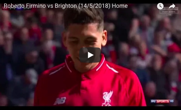 (Video) Watch Firmino's Masterclass at no.10 v Brighton