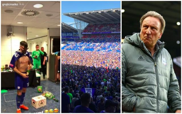 Grujic celebrates promotion with 'Scottish C*nt' social media joke