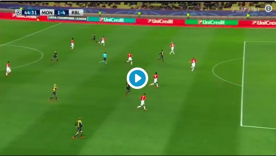 (Video) When Keita done Fabinho in the Champions League