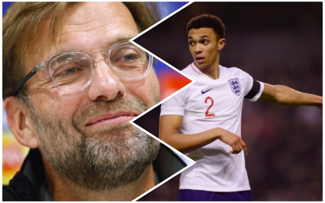 Trent 'devastated' by England dropping; Klopp equally confused but will 'lift his chin off the floor'