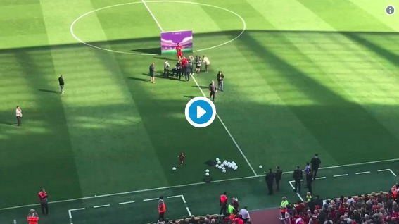 (Video) The only time Liverpool fans have ever booed Mo Salah…
