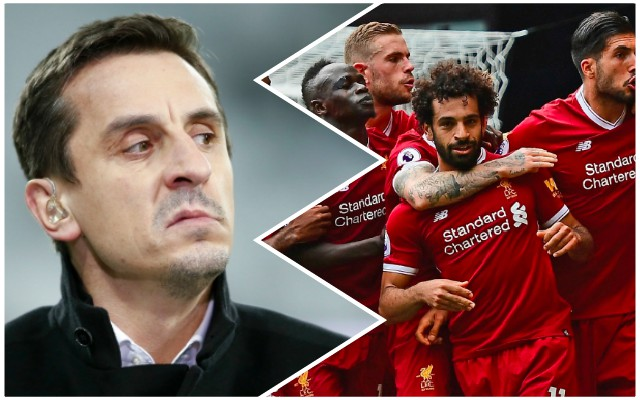 Gary Neville: What I'll do if Liverpool win the Champions League