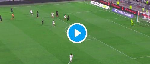 (Video) Nabil Fekir supplies classy assist for Memphis Depay in Lyon win