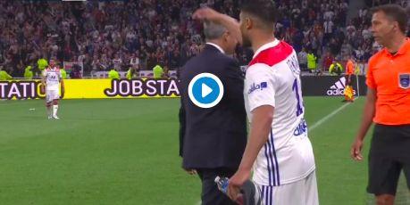 (Video) Nabil Fekir's euphoria as Lyon secure Champions League spot is telling…