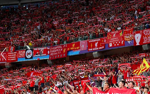 The lyrics of five of Liverpool's best chants ahead of the UCL final