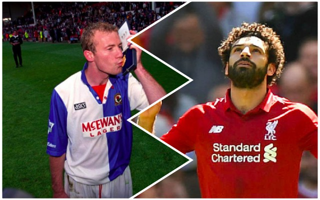 LFC fans applaud Alan Shearer's message to Salah after Mo breaks PL record