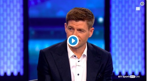 (Video) Watch Gerrard discuss taking the Rangers job…