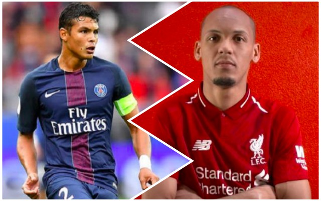 Thiago Silva's great quotes on Fabinho will excite Reds