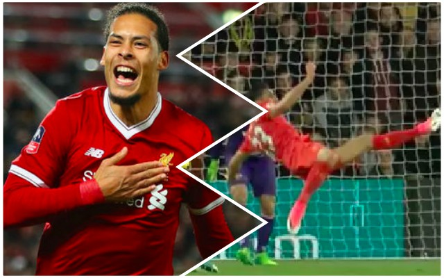 Emre Can's 'robust' scissor challenge on Van Dijk leaves Reds fuming