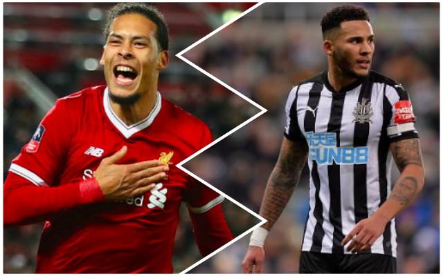 Van Dijk's potential new CB partner talks Liverpool links