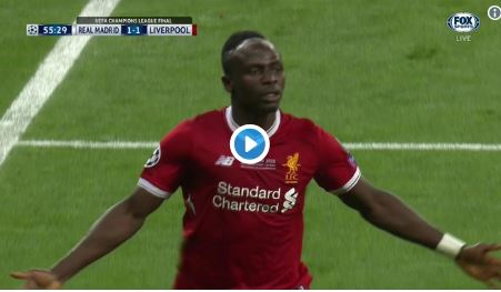 (Video) Liverpool equalise immediately and the noise is astonishing