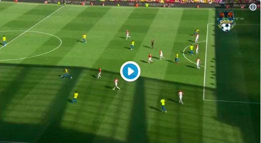 (Video) Firmino's delicate goal for Brazil at Anfield is worth watching