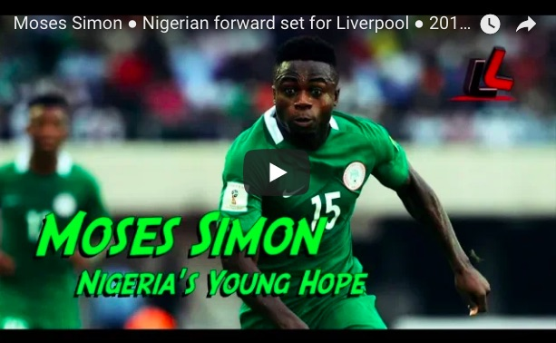 (Video) 2 minutes of Moses Simon highlights show 'Sadio Mane potential'