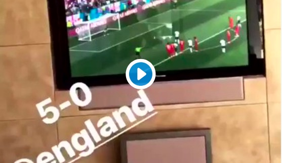 (Video) Oxlade-Chamberlain's reaction to England is genuine & hilarious