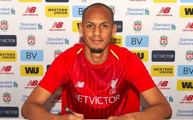 Fabinho's shirt number and new boots revealed ahead of Liverpool debut