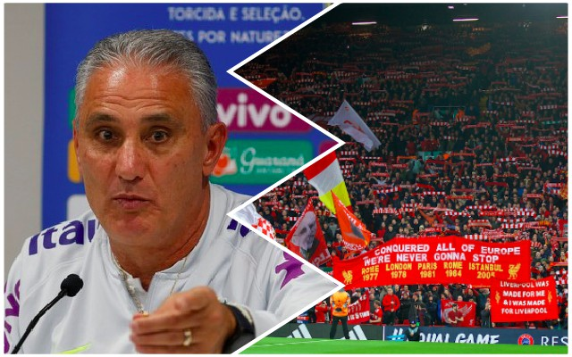 Tite has said something amazing about Anfield