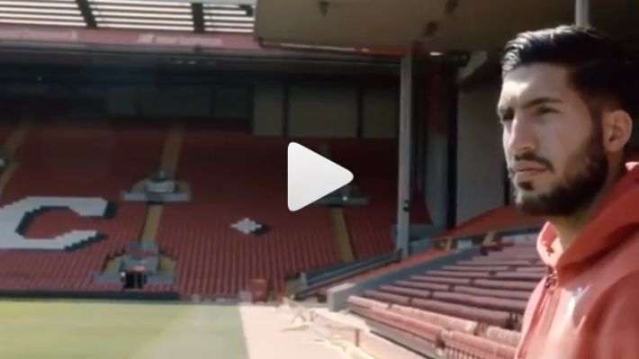(Video) Emre Can sends farewell message to LFC fans