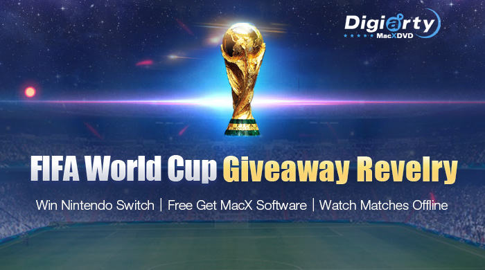 2018 World Cup Giveaway – Predict the Champion, Win Nintendo Switch and Video Processing Tool