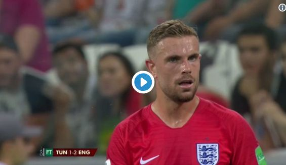 'English Pirlo' – Video highlights as Liverpool star stuns fans in England win over Tunisia