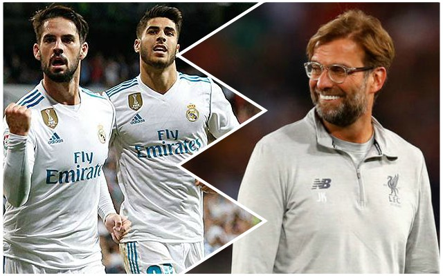Surprise Marco Asensio Liverpool transfer update emerges from Spain…
