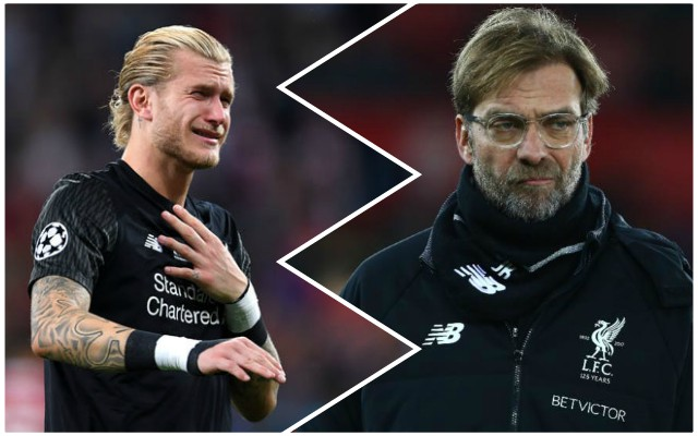 Klopp hits back at Karius who claims he was left in dark over Alisson