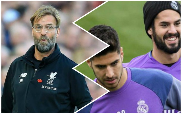 Klopp still 'loves' Asensio who is enduring poor Real Madrid season – Report