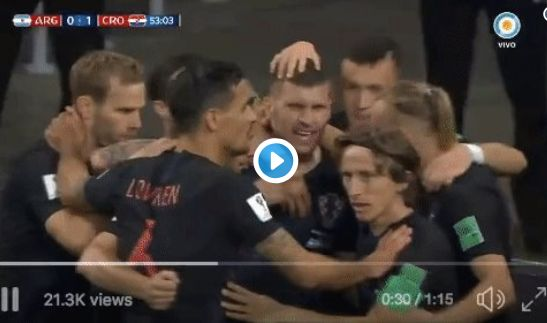 (Video) Dejan Lovren clearly still hasn't forgiven Luka Modric for the Champions League final