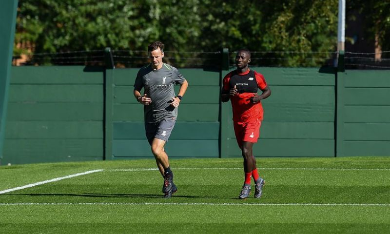 Physio: 'Let's go for a run' … Keita: 'I like eggs'