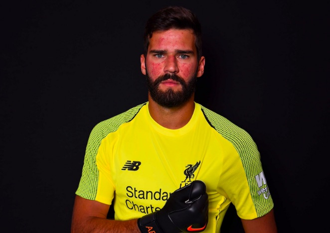 Alisson explains text convo with Mo Salah…