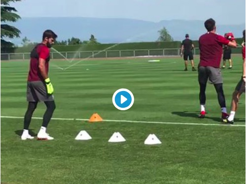 (Video) First clips of Alisson Becker in LFC training emerge
