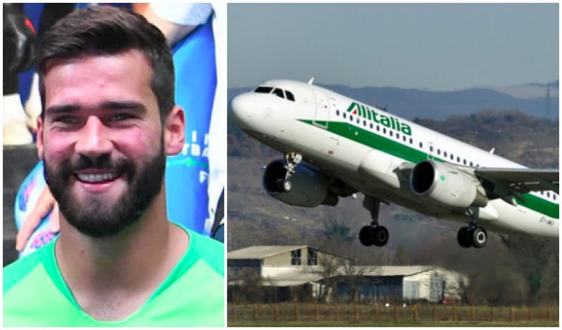 Alisson boards flight; Brazilian in Liverpool in hours; Contract sorted