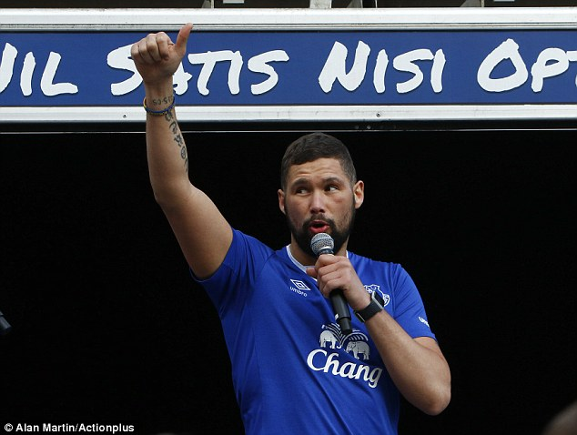 Tony Bellew petrified of Liverpool: 'It's killing me inside…'