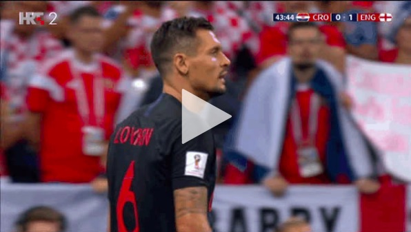 (Video) Clip shows Lovren abusing Delle Ali v England