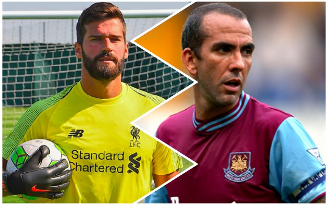 Di Canio gives Alisson a warning about Liverpool…