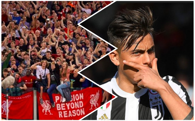 South American Dybala reports send LFC fans into overdrive
