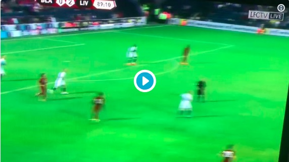 (Video) Naby Keita's beautiful touch and through-ball v Blackburn