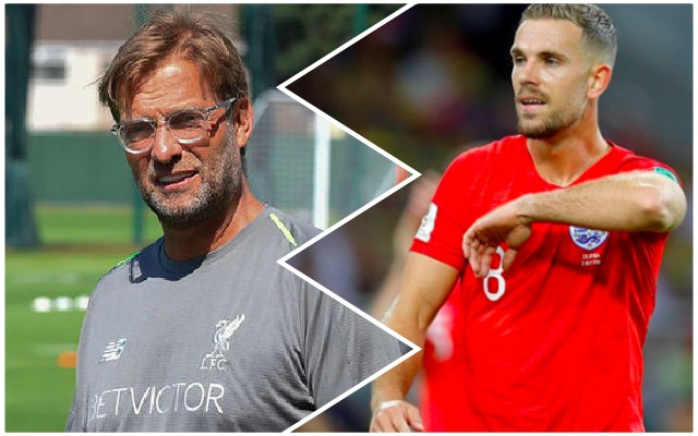 Klopp explains new, versatile role for Jordan Henderson following World Cup