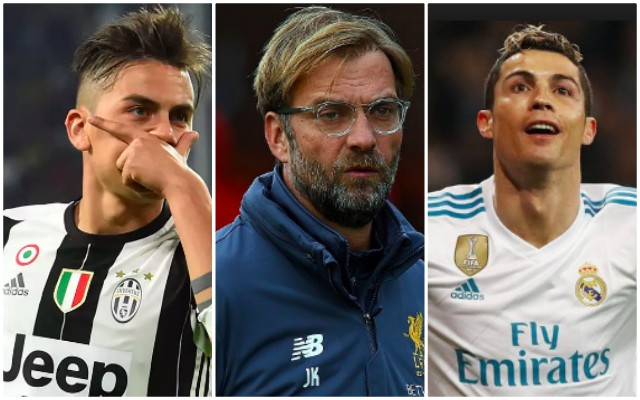 LFC must move for Dybala if Juve sell Argentine to fund Ronaldo deal