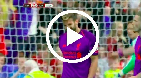 (Video) Adam Lallana's friendly goal shows LFC gegenpressing at its best