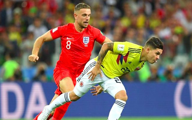 Jordan Henderson tipped to play in new role against Sweden