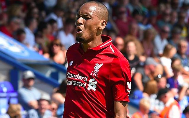 (Video) The moment Fabinho came inches away from debut goal