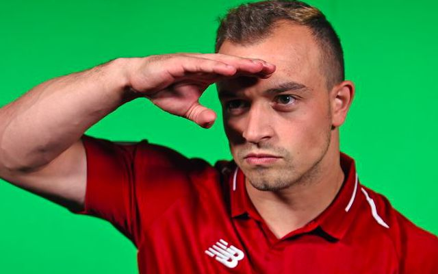 Xherdan Shaqiri sends glorious gift to Gary Neville – makes special plea to pundit