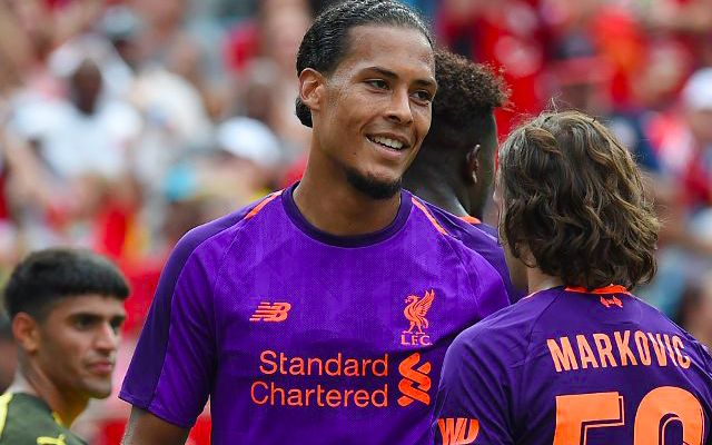 Van Dijk wins Man of the Match award for strange reason